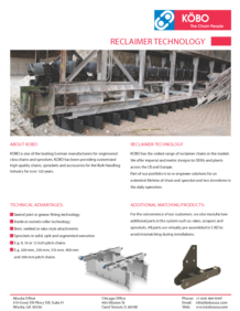 Kobo USA Bulk Industry Flyer Reclaimer Technology