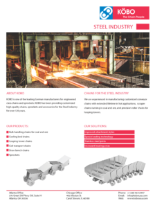 Kobo USA Steel Industry Flyer